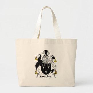 Cavendish Family Crest Jumbo Tote Bag