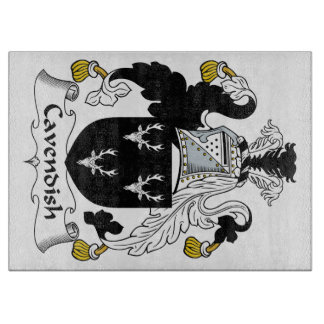 Cavendish Family Crest Cutting Boards