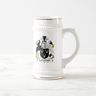 Cavendish Family Crest 18 Oz Beer Stein