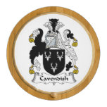 Cavendish Family Crest Round Cheeseboard