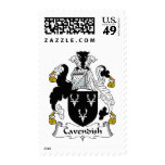 Cavendish Family Crest Stamps