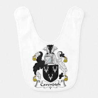 Cavendish Family Crest Bib