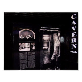 Cavern Club Original Entrance, Liverpool, UK. Poster