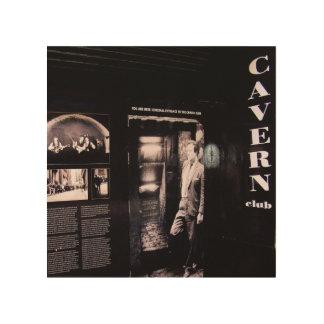 Cavern Club Original Entrance, Liverpool, UK. Wood Print