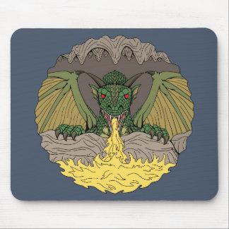 Cavern Dragon 2016 Mouse Pad