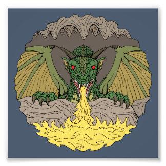Cavern Dragon 2016 Photo Print