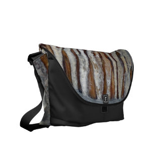 Cavern Druids Crystal Pattern Courier Bag