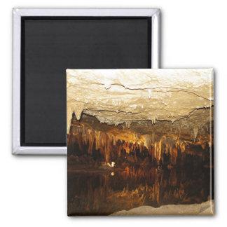 Cavern Lake 2 Inch Square Magnet