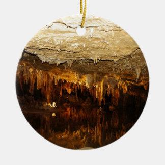Cavern Lake Ceramic Ornament