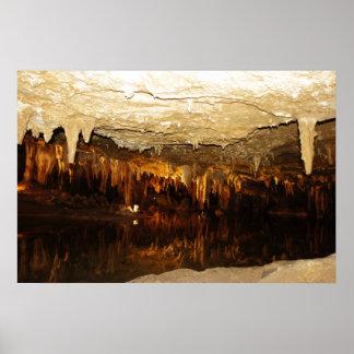 Cavern Lake Poster