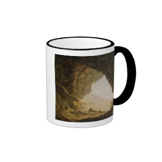 Cavern, Near Naples, 1774 (oil on canvas) Mugs