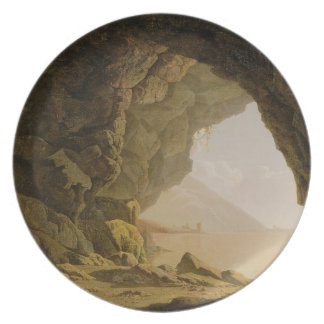 Cavern, Near Naples, 1774 (oil on canvas) Plates