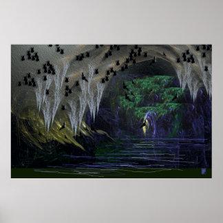 cavern of bats poster