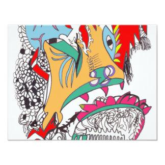 Cavernal Carnival 4.25x5.5 Paper Invitation Card