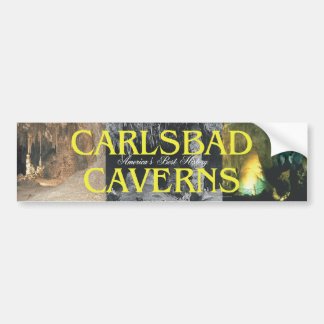 Cavernas de ABH Carlsbad Etiqueta De Parachoque