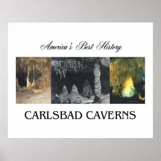 Cavernas de ABH Carlsbad Poster