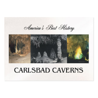 Cavernas de ABH Carlsbad Tarjeta De Visita