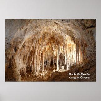 Cavernas de Carlsbad - el teatro de la muñeca - Póster