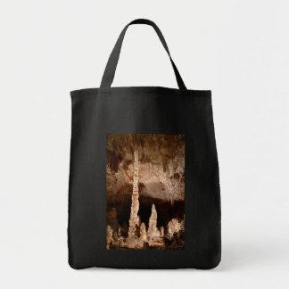 Cavernas de Carlsbad - tótem Bolsa Tela Para La Compra