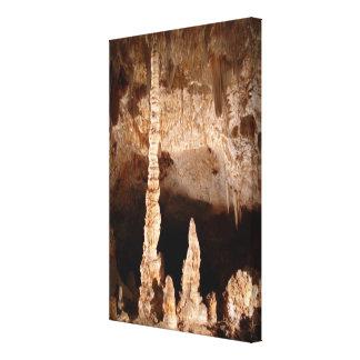 Cavernas de Carlsbad - tótem Impresión En Lona Estirada
