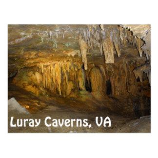 Cavernas de Luray postal del VA