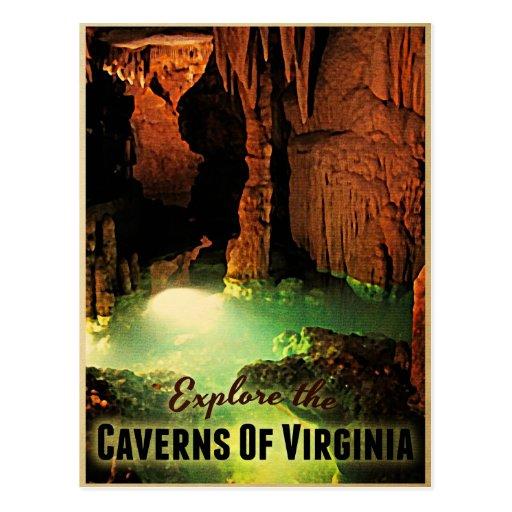 Cavernas de Virginia Tarjetas Postales