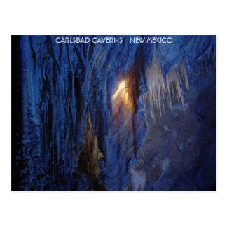 Cavernas New México de Carlsbad Postal