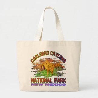 Cavernas parque nacional, New México de Carlsbad Bolsa Lienzo