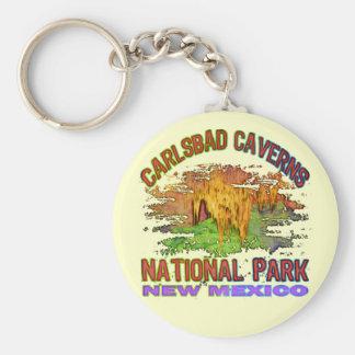 Cavernas parque nacional, New México de Carlsbad Llaveros Personalizados