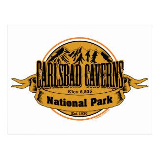 Cavernas parque nacional, New México de Carlsbad Postal