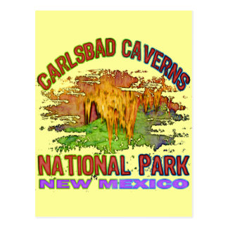 Cavernas parque nacional, New México de Carlsbad Tarjetas Postales