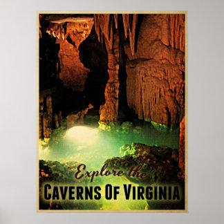 Caverns Of Virginia Poster