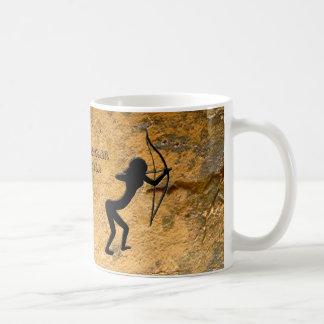 Cavewoman Archer Coffee Mug