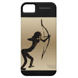 Cavewoman Archer iPhone 5 Carcasas