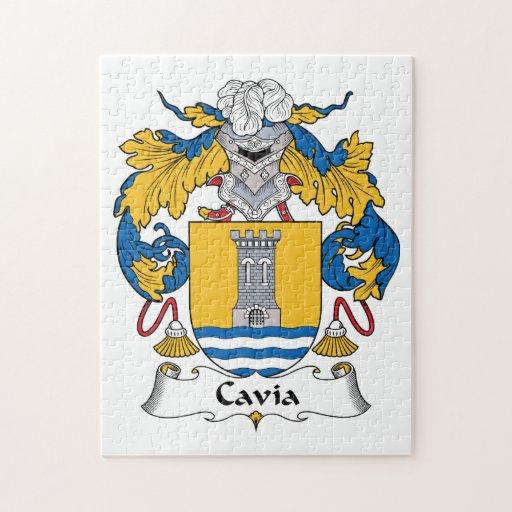 Cavia Family Crest Puzzles