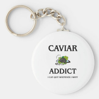 Caviar Addict Keychain