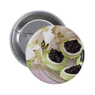 Caviar  flowers pins