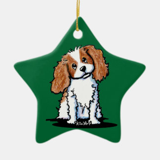 Cavie Cutie Green Star Personalized Ornament