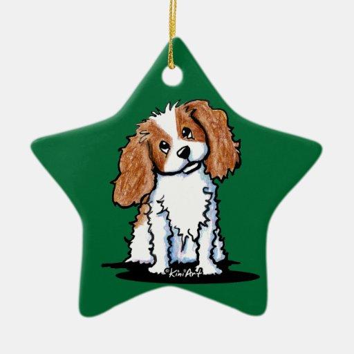 Cavie Cutie Green Star Personalized Ornament