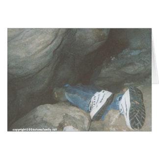 caving descent tight fit card