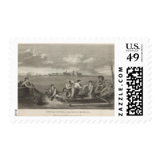 Cavite in the Bay of Manilla Postage Stamp