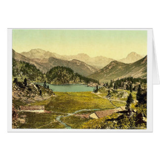Cavloccio Lake, Grisons, Switzerland vintage Photo Cards