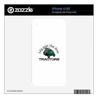 Cavo a individuos iPhone 4 skins