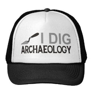 Cavo arqueología gorros