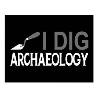 Cavo arqueología tarjeta postal