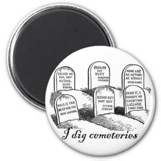 Cavo cementerios imán para frigorífico