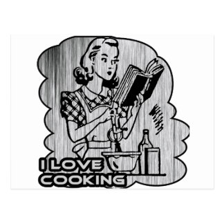 Cavo cocinar adorno postal
