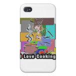 Cavo cocinar la ebullición y aso iPhone 4 carcasas