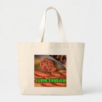 Cavo cocinar recetas bolsa lienzo