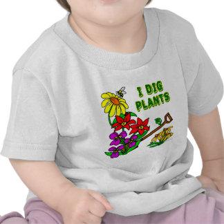 Cavo decir del jardinero de las plantas camisetas
